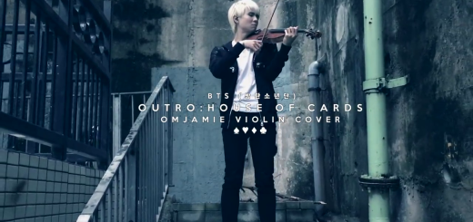 BTS (방탄소년단) OUTRO: HOUSE OF CARDS - VIOLIN COVER by @OMJamieViolin